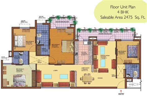 100 Floors Free 91 - srs royal sector 87 faridabad 91 9416068133 2 bhk