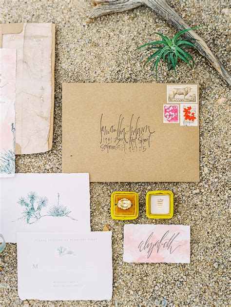 Desert Wedding Invitations