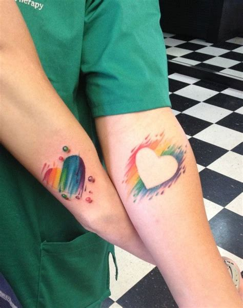 matching tattoos for lesbian couples 115 best images about on feathers