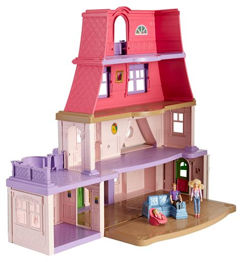 amazon doll houses amazon com fisher price loving family dollhouse toys games