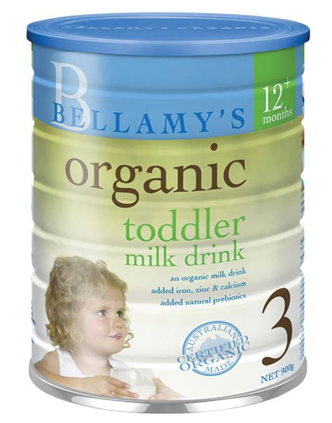 S26 Step 3 bellamy s organic toddler drink step 3 900g formula