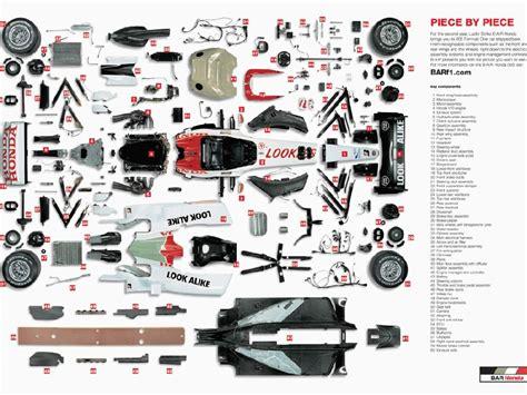 one parts formula1race