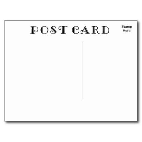 10 retro postcard font images vintage postcard back
