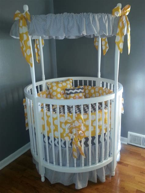 Circle Crib With Canopy by Crib Ensemble I Had It Babies