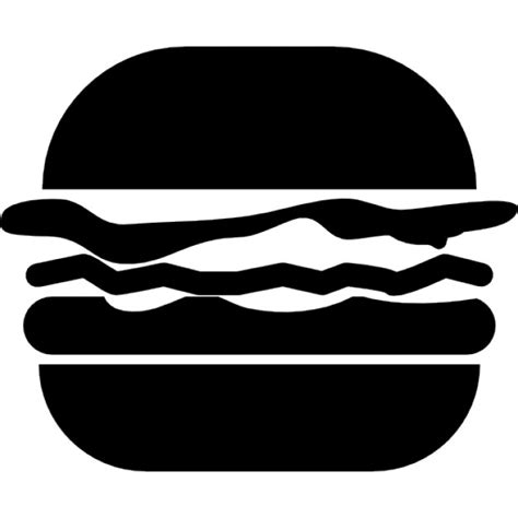 Kaos Choice Foods Siluet Store hamburger silhouette at getdrawings free for