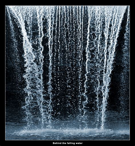 water falling pin nature water art motion spray hd 1080 loopable waving
