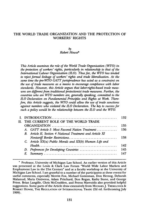 section 3 small business act the world trade organization and the protection of workers
