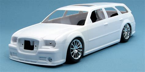 Downie Chrysler Jeep Dodge Revell 300c Srt 8 And Srt 8 Touring Wagon On The