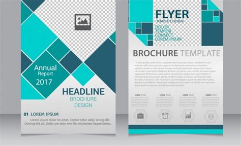 adobe illustrator flyer template free vector