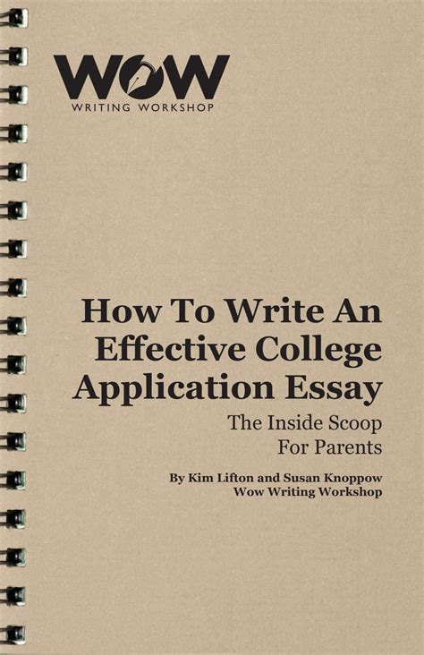 College Application Essay Workshops Help To Write College Essays