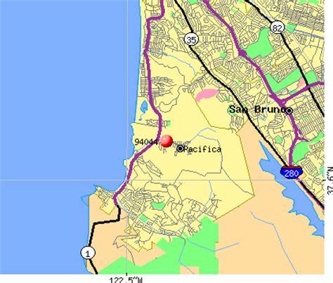 pacifica california map 94044 zip code pacifica california profile homes