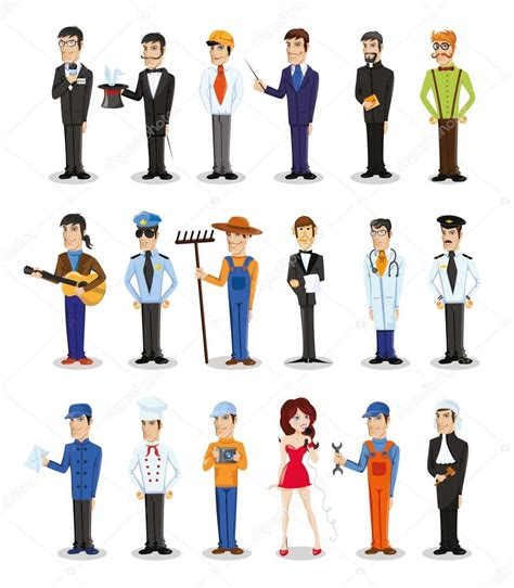 imagenes de los vectores personajes de distintas profesiones archivo im 225 genes