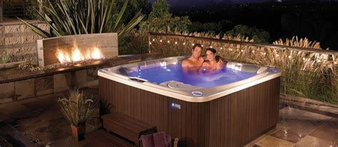 Spa Backyard Designs by Flair Hotspring Whirlpools