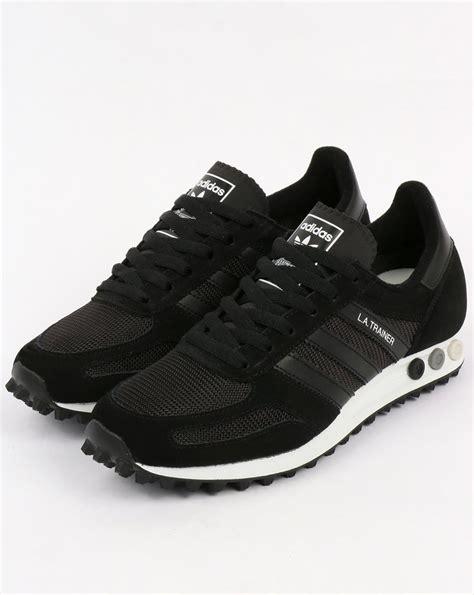 adidas la trainer og adidas la trainer og black black white shoes running mens