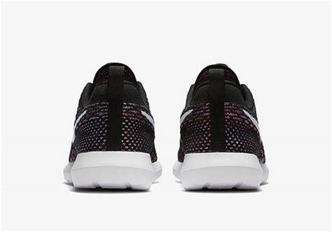 Nike Flyknit Racer Blue Glow Black Yellow Premium High Quality nike roshe flyknit multicolor black purple sneakerfiles