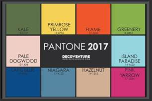pantone 2017 colors the 2017 color trends decoventure