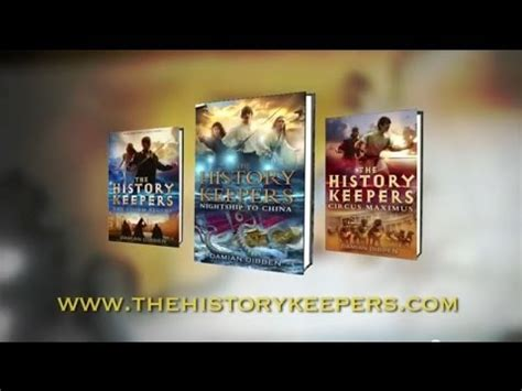 The History Keepers 1 The Begins By Damian Dibben the history keepers nightship to china by damian dibben book trailer