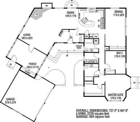 C Shaped Home Plan 7851ld 1st Floor Master Suite C Shaped Home Plans