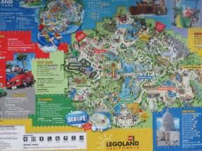 map of legoland california legoland california 2010 park map