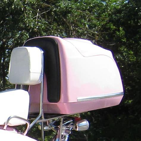 125ccm Motorrad Pink by Retro Roller Znen Topcase Pink