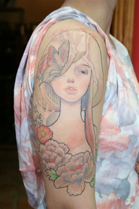 audrey kawasaki tattoo 19 best images about feminine tattoos on