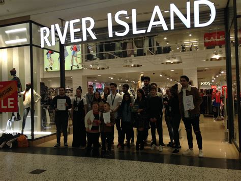 With The Thanks To Ok And River Island by Dominic Says Thank You To River Island Fundraisers