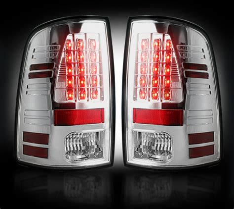 2014 ram tail lights recon clear led tail lights for 2014 2016 ram cummins