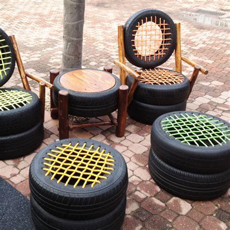 tire couch tire patio furniture bored panda