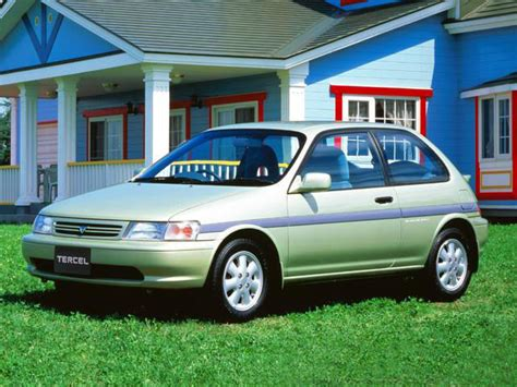 97 Toyota Tercel Mpg Toyota Tercel Technical Specifications And Fuel Economy