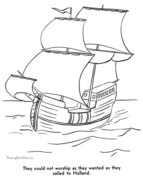 pilgrim house coloring page history of the pilgrims coloring pages 002
