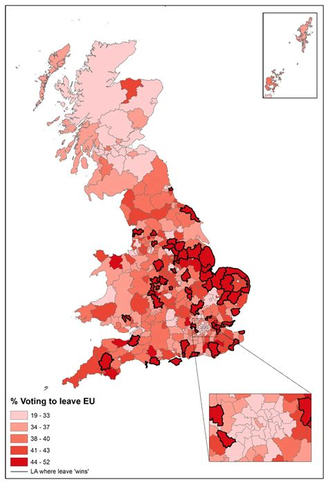 map uk eu referendum results can we really not predict who will vote for brexit and