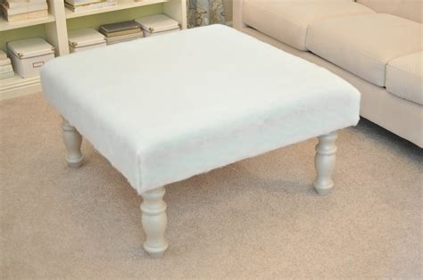 diy upholstered ottoman creative diy furniture hacks upholstered ottoman the