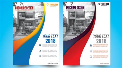 corel draw booklet layout how to make brochure design in coreldraw x7 6 by as