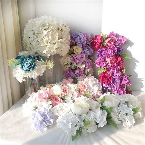 wedding party decoration decorative flowers artificial