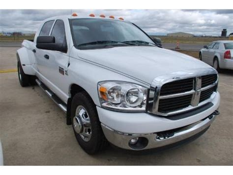 2007 dodge 3500 specs 2007 dodge ram 3500 slt mega cab dually data info and