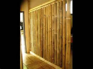 bamboo wall construction images