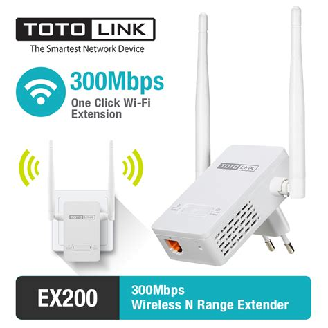 Wifi Extender מוצר totolink ex200 300mbps easy setup range extender wireless wifi repeater with 2 4dbi
