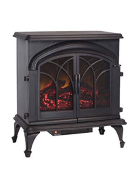 indoor outdoor patio fox hill electric fireplace