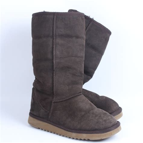 costco boots 74 kirkland shoes costco shearling boots brown