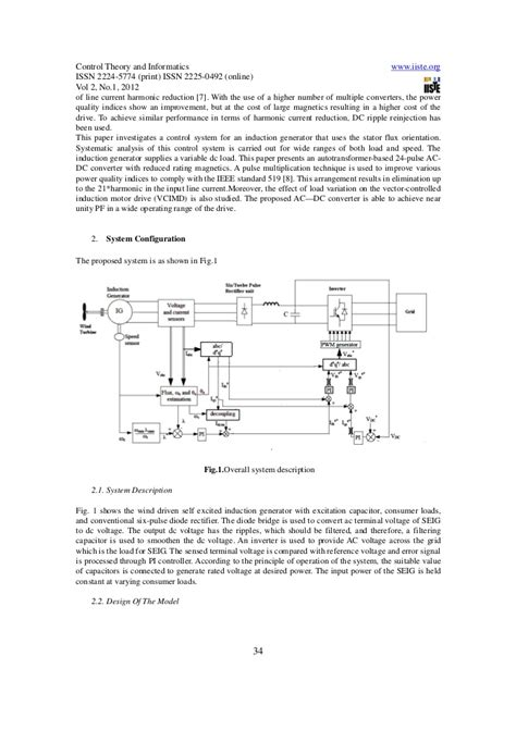 vector diagram of induction generator vector of wind driven self excited induction generator connec