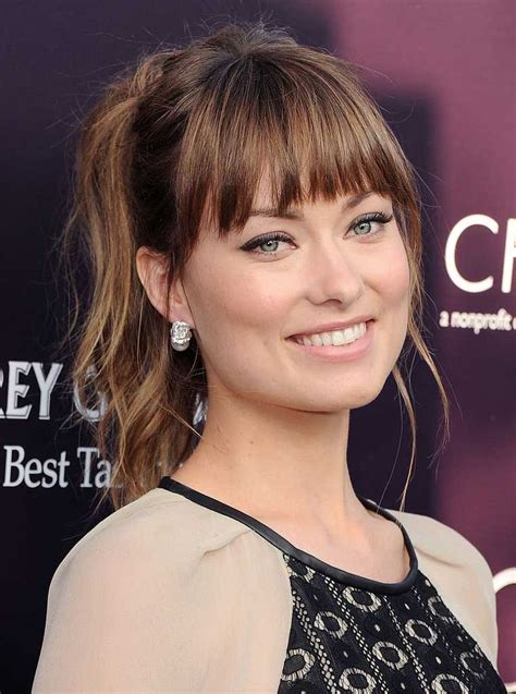hairstyle with fringe around face 25 best ideas about bangs for oval faces on pinterest