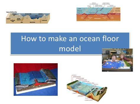 how to make an floor model