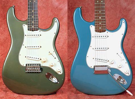 custom color stratocasters vintage guitar 174 magazine