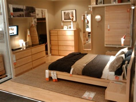 Ikea Malm Bedroom Ideas by Ikea Malm Furniture Wood Small Bedroom Boy
