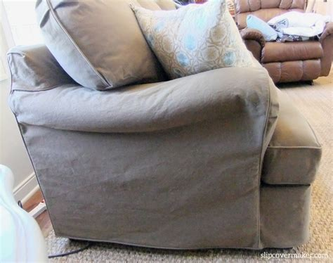 Dog Friendly Denim Slipcover The Slipcover Maker Denim Sofa Slipcover