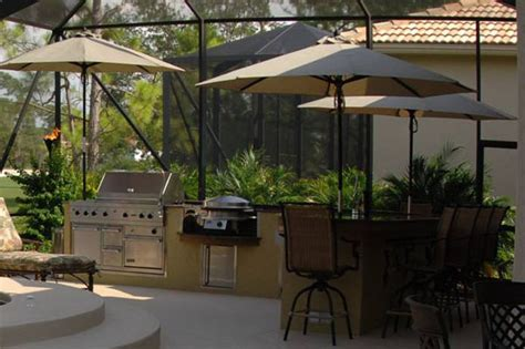 backyard kitchen outdoor furniture design and ideas