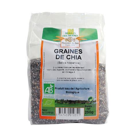 Chia Setdress graines de chia 250g supermarch 233 bio
