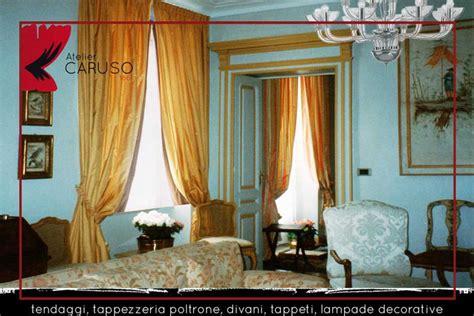 tendaggi interni tendaggi classici con mantovana atelier tessuti