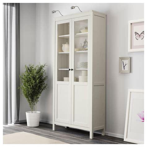 hemnes glass door cabinet ikea white cabinet with glass doors