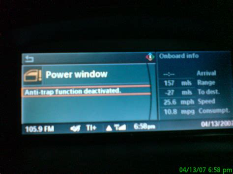 resetting window bmw bmw power window anti trap function reset